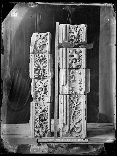 CA-0341-VI_Convento de San Juan de los Reyes-Detalles ornamentales del claustro