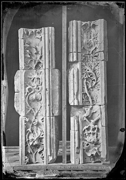 CA-0343-VI_Convento de San Juan de los Reyes-Detalles ornamentales del claustro