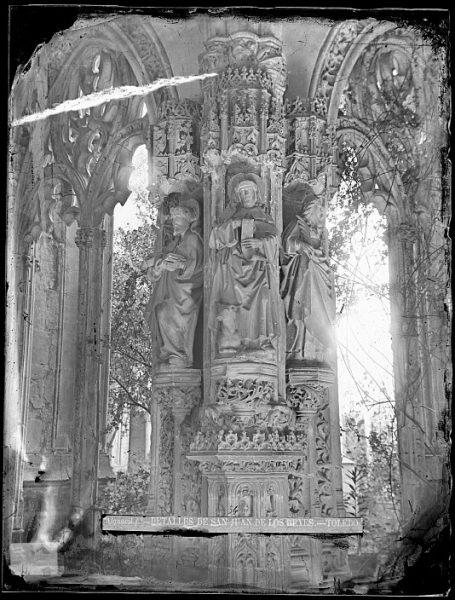 CA-0344-VI_Convento de San Juan de los Reyes-Detalle del claustro