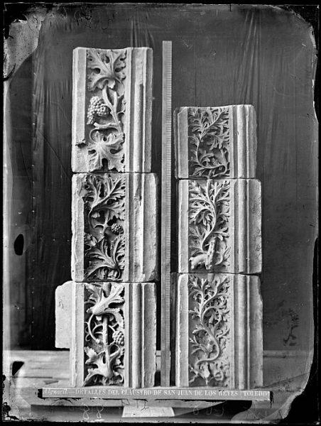 CA-0345-VI_Convento de San Juan de los Reyes-Detalles ornamentales del claustro