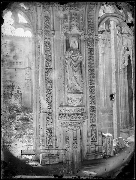 CA-0346-VI_Convento de San Juan de los Reyes-Detalle del claustro