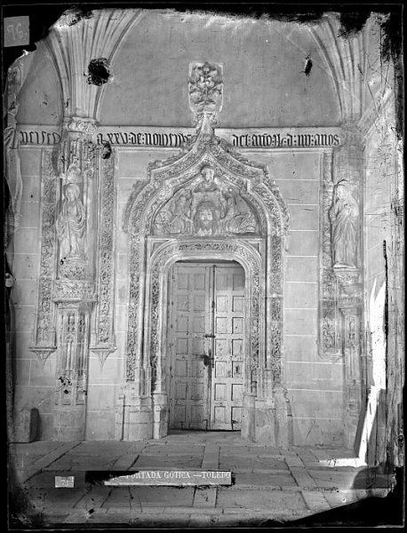 CA-0350-VI_Convento de San Juan de los Reyes-Puerta de acceso al claustro