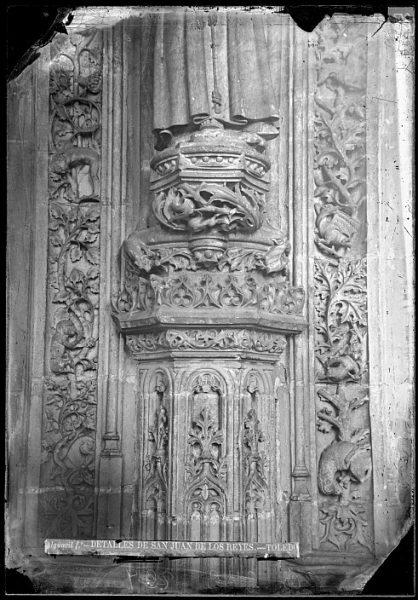 CA-0351-VI_Convento de San Juan de los Reyes-Detalle del claustro