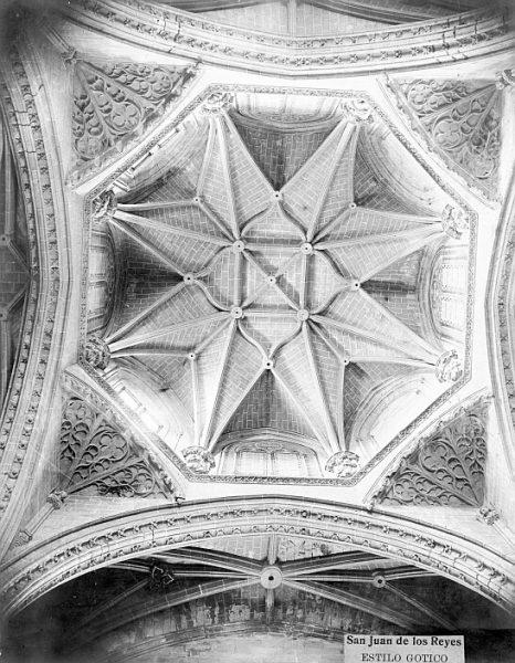 CA-0353-PA_Convento de San Juan de los Reyes-Cúpula del interior de la iglesia
