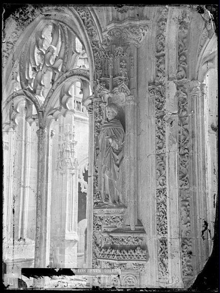 CA-0354-VI_Convento de San Juan de los Reyes-Detalle del claustro