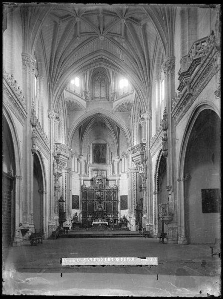 CA-0355-VI_Convento de San Juan de los Reyes-Interior de la iglesia