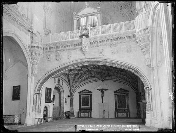 CA-0358-VI_Convento de San Juan de los Reyes-Interior de la iglesia y coro