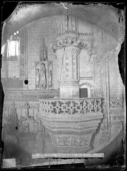 CA-0361-VI_Convento de San Juan de los Reyes-Detalle del crucero de la iglesia