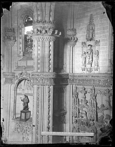 CA-0363-VI_Convento de San Juan de los Reyes-Detalle del crucero de la iglesia