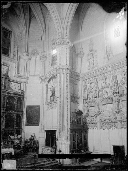 CA-0364-VI_Convento de San Juan de los Reyes-Detalle del crucero de la iglesia