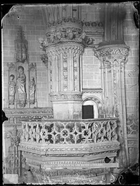 CA-0365-VI_Convento de San Juan de los Reyes-Detalle de la tribuna real de la iglesia