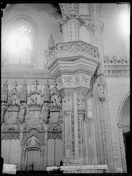 CA-0366-VI_Convento de San Juan de los Reyes-Detalle de la tribuna real de la iglesia