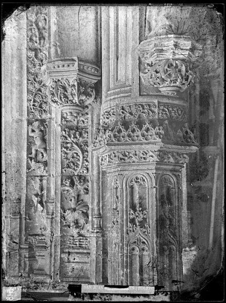 CA-0367-VI_Convento de San Juan de los Reyes-Detalle de la iglesia