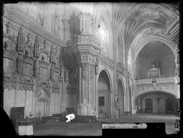 CA-0369-VI_Convento de San Juan de los Reyes-Interior de la iglesia