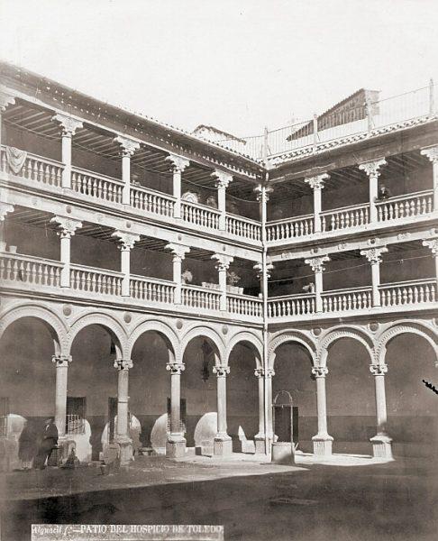 CA-0370-PA_Convento de San Pedro Mártir-Patio del claustro
