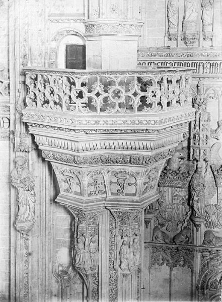 CA-0372-PA_Convento de San Juan de los Reyes-Detalle de la tribuna real de la iglesia