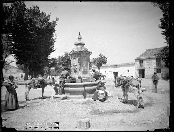 CA-0386-VI_Abasto de agua en la fuente de Cabrahigos