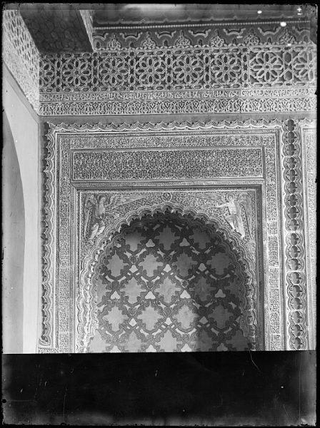CA-0389-VI_Iglesia de San Justo-Detalle ornamental de la capilla del Corpus Christi