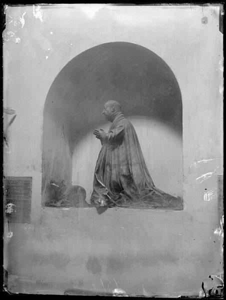 CA-0391-VI_Convento de San Pedro Mártir-Estatua funeraria de D Pedro Soto Cameno