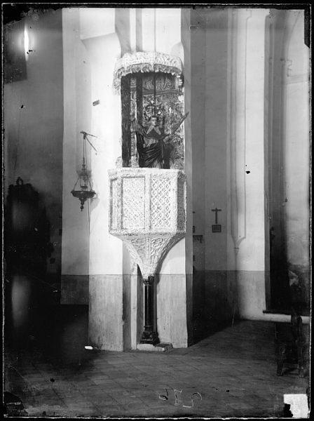 CA-0395-VI_Iglesia de Santiago del Arrabal-Púlpito