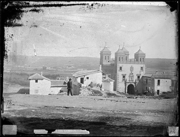 CA-0413-VI_Vista de la Puerta del Cambrón y de la vega toledana
