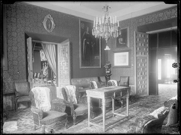 CA-0429-VI_Palacio Arzobispal-Antesala del salón del trono