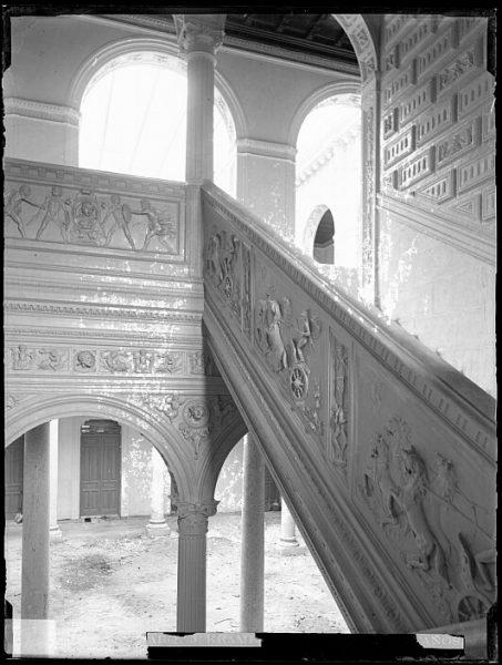 CA-0443-VI_Hotel Castilla en la plaza de San Agustín-Escalera interior