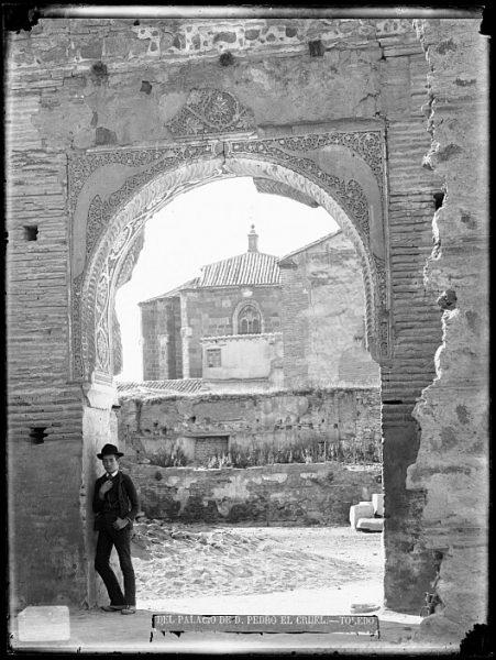 CA-0445-VI_Palacio de Don Pedro I El Cruel-Arco árabe