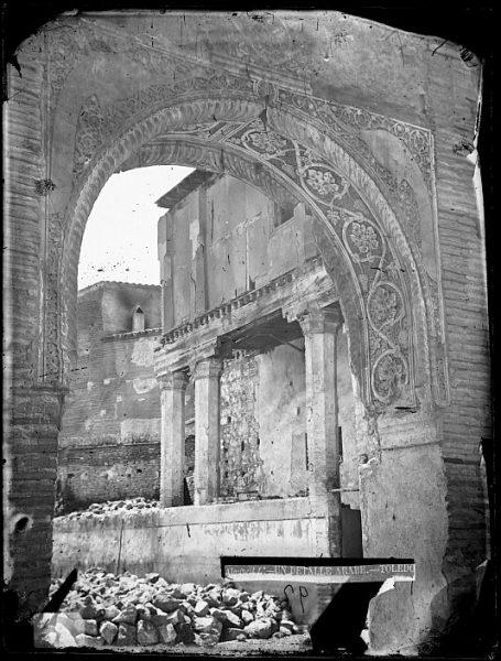CA-0446-VI_Palacio de Don Pedro I El Cruel-Arco árabe