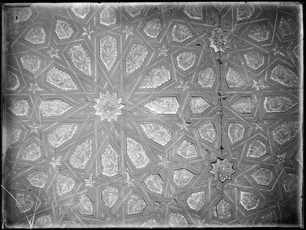 CA-0463-VI_Salón de la Casa de Mesa-Detalle del artesonado