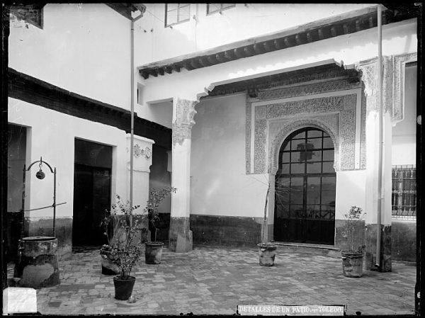 CA-0469-VI_Casa del Arcedianato de Madrid-Patio