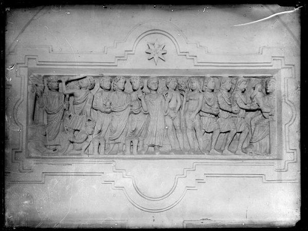 CA-0518-VI_Sepulcro romano de Layos en el convento de Santo Domingo el Real-Detalle