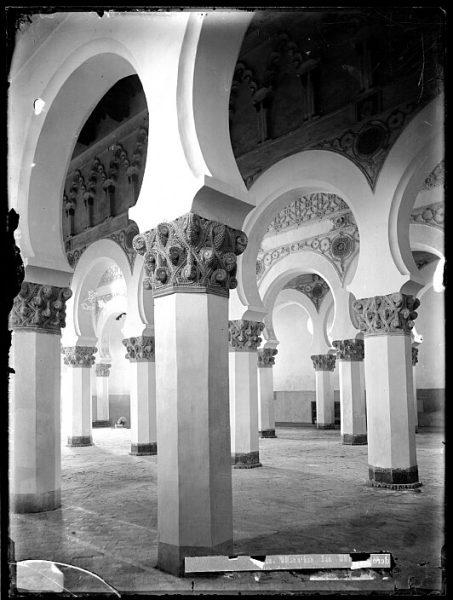 CA-0525-VI_Sinagoga de Santa María la Blanca-Interior
