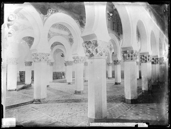 CA-0526-VI_Sinagoga de Santa María la Blanca-Interior