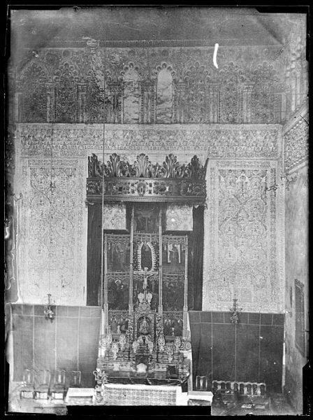 CA-0528-VI_Sinagoga del Tránsito-Altar mayor