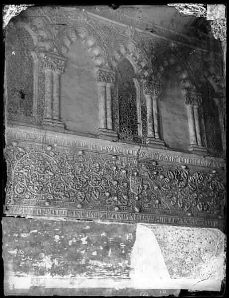 CA-0534-VI_Sinagoga del Tránsito-Detalle del friso bajo y triforio