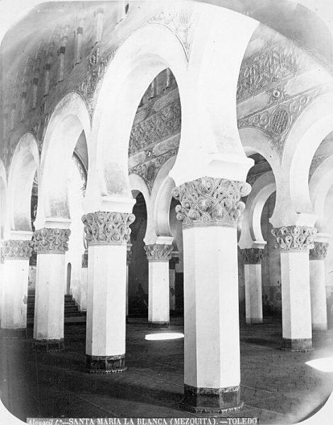 CA-0537-PA_Sinagoga de Santa María la Blanca-Interior