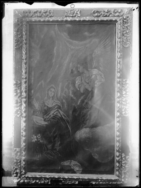 CA-0540-VI_Pintura de Domenico Theotocopuli El Greco-La Anunciación