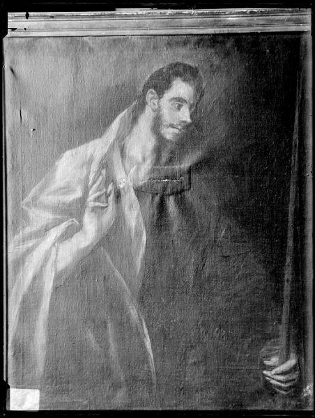 CA-0541-VI_Pintura de Domenico Theotocopuli El Greco-Santo Tomás (Apostolado)