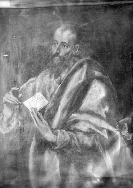 CA-0542-PA_Pintura de Domenico Theotocopuli El Greco-San Pablo (Apostolado)
