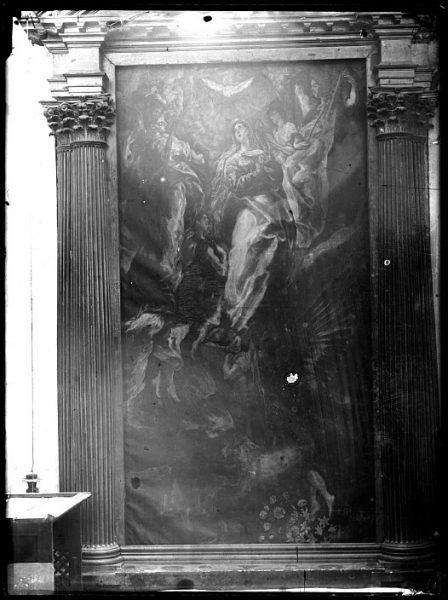 CA-0544-VI_Pintura de Domenico Theotocopuli El Greco-La Asunción