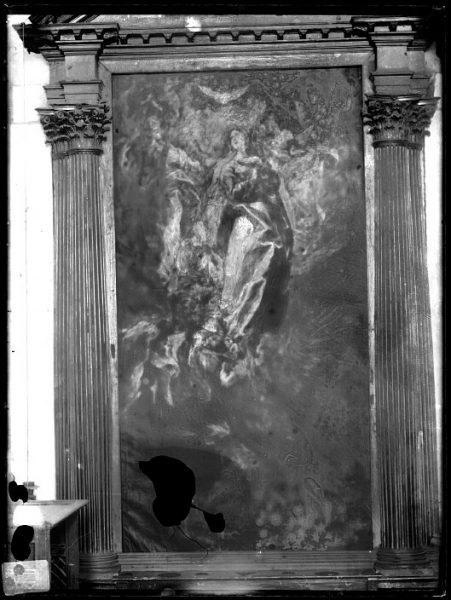 CA-0545-VI_Pintura de Domenico Theotocopuli El Greco-La Asunción