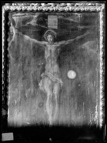 CA-0547-VI_Pintura de Domenico Theotocopuli El Greco-Cristo en la Cruz