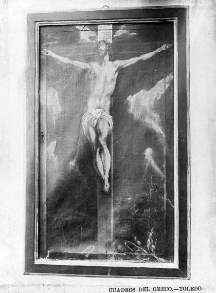 CA-0548-PA_Pintura de Domenico Theotocopuli El Greco-Crucifixión