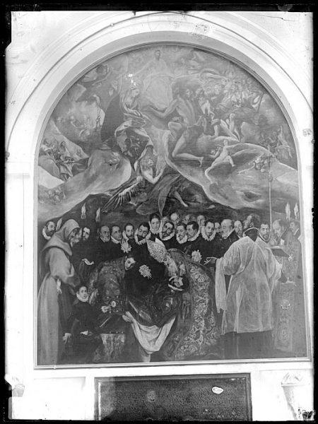CA-0549-VI_Pintura de Domenico Theotocopuli El Greco-Entierro del Conde de Orgaz