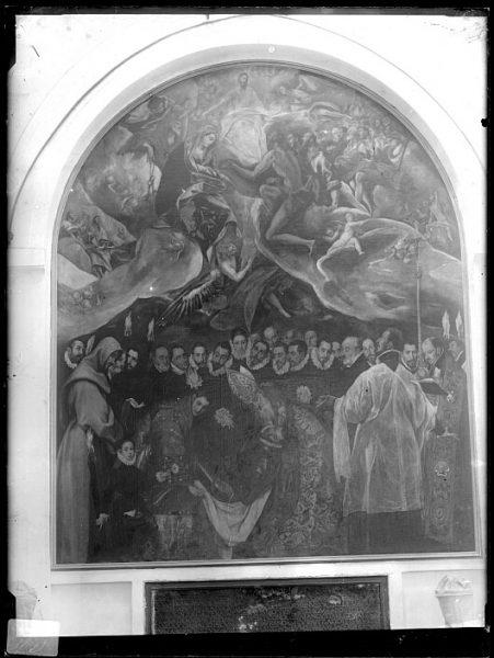 CA-0550-VI_Pintura de Domenico Theotocopuli El Greco-Entierro del Conde de Orgaz