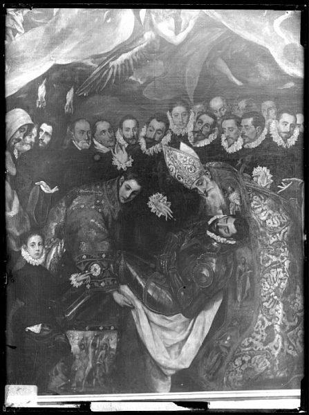 CA-0552-VI_Pintura de Domenico Theotocopuli El Greco-Detalle del Entierro del Conde de Orgaz