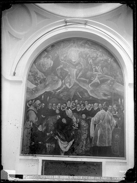 CA-0553-VI_Pintura de Domenico Theotocopuli El Greco-Entierro del Conde de Orgaz