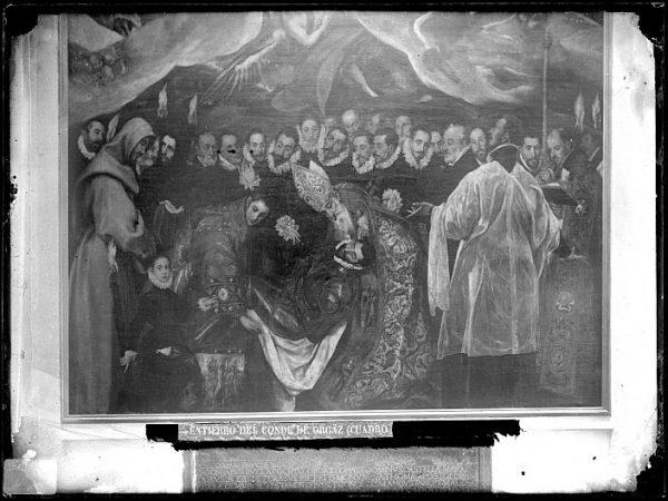 CA-0554-VI_Pintura de Domenico Theotocopuli El Greco-Detalle del Entierro del Conde de Orgaz