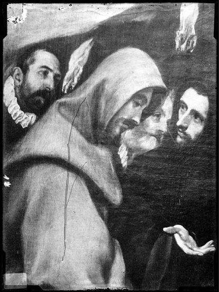 CA-0555-VI_Pintura de Domenico Theotocopuli El Greco-Detalle del Entierro del Conde de Orgaz